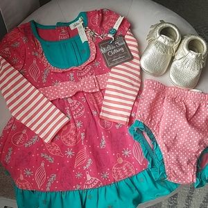 Matilda Jane 6-12 month xmas dress